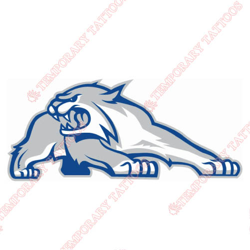 New Hampshire Wildcats Customize Temporary Tattoos Stickers NO.5415